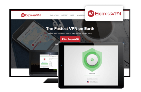ExpressVPN screenshots