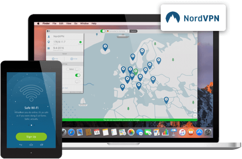 NordVPN screenshots