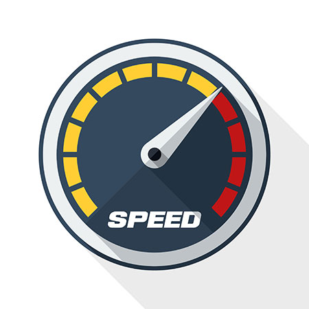 Streaming speed